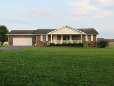 Munfordville Single Family Home For Sale: 191 Hickory Lane