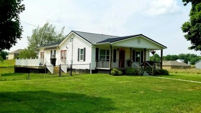 Elizabethtown Single Family Home For Sale: 2136 W Rhudes Creek Road