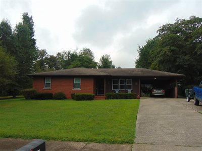 Munfordville Single Family Home For Sale: 107 N West Street