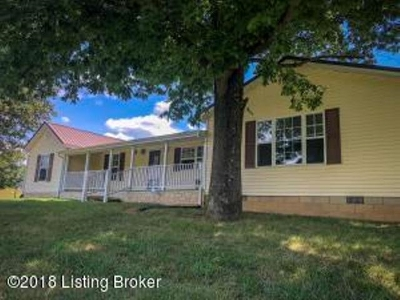 Caneyville Single Family Home For Sale: 1896 Richland