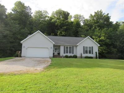 Breckinridge County Single Family Home For Sale: 9646 W Highway 60