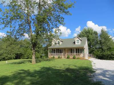 Meade County, Bullitt County, Hardin County Single Family Home For Sale: 192 Ridge Court