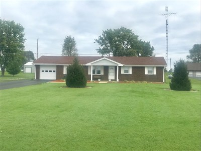Campbellsville Single Family Home For Sale: 152 Wise Road