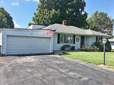 Campbellsville Single Family Home For Sale: 109 Grandview Drive
