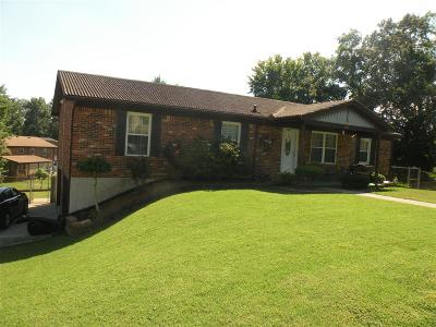 Radcliff Single Family Home For Sale: 1298 Glenwood Drive #101 Shel