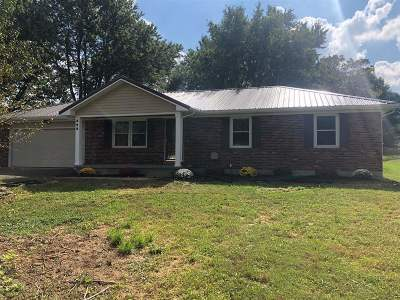 Elizabethtown KY Single Family Home For Sale: $157,500