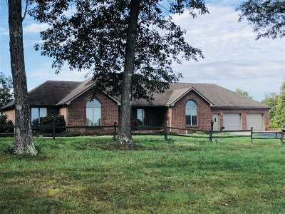 Elizabethtown Single Family Home For Sale: 2960 Hutcherson Lane