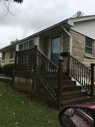 Elizabethtown KY Single Family Home For Sale: $66,900