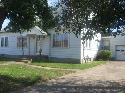 Campbellsville Single Family Home For Sale: 1110 Broadway