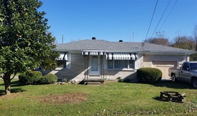 Campbellsville Single Family Home For Sale: 714 N Hoskins Avenue