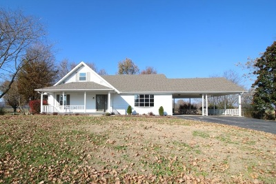 Horse Cave Single Family Home For Sale: 4993 S Jackson Highway