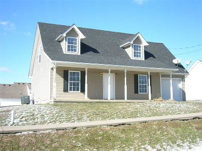 Radcliff KY Single Family Home For Sale: $119,000