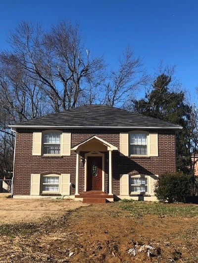 Radcliff KY Single Family Home For Sale: $127,000