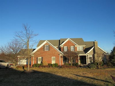 Elizabethtown Single Family Home For Sale: 85 Monticello Place