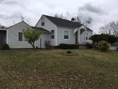 Elizabethtown KY Single Family Home For Sale: $134,000