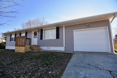 Elizabethtown KY Single Family Home For Sale: $124,900