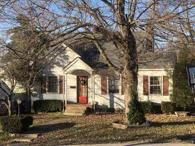 Hodgenville Single Family Home For Sale: 212 W High Street