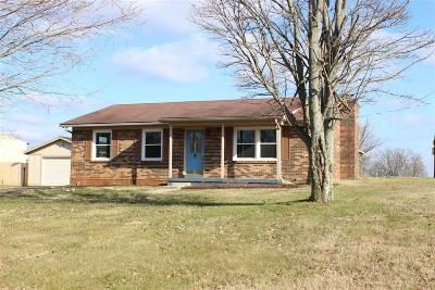 Elizabethtown Single Family Home For Sale: 3484 Shepherdsville Road