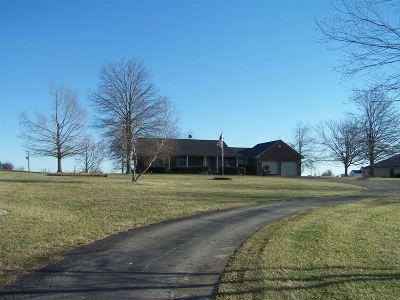 Hardin County Farm & Ranch For Sale: 384 Bennett Road