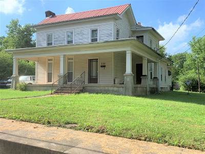 Horse Cave Single Family Home For Sale: 110 Church Street