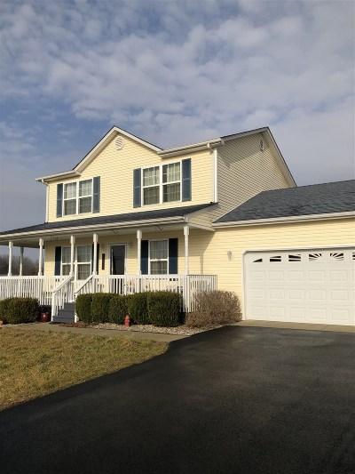 Meade County, Bullitt County, Hardin County Single Family Home For Sale: 7560 Brandenburg Road