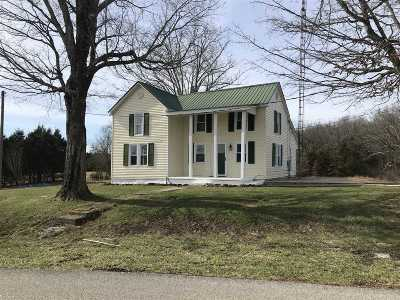 Bonnieville Single Family Home For Sale: 787 Walnut Grove School Road