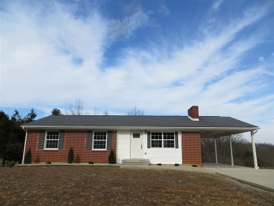 Meade County, Bullitt County, Hardin County Single Family Home For Sale: 1200 Ranch Road