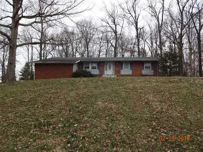 Elizabethtown KY Single Family Home For Sale: $62,500