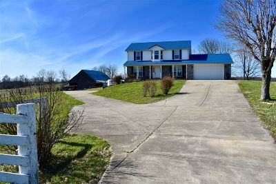 Elizabethtown  Single Family Home For Sale: 2391 Round Top Road