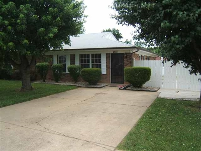 Radcliff Single Family Home For Sale: 2614 Vonoa Drive