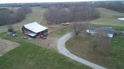 Hardyville Single Family Home For Sale: 5320 Hundred Acre Pond Road