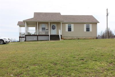 Munfordville Single Family Home For Sale: 370 Caldwell Road