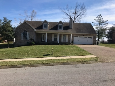 Elizabethtown Single Family Home For Sale: 802 Greenview Circle