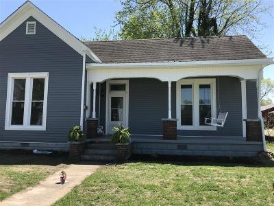 Hodgenville Single Family Home For Sale: 216 S Greensburg Street