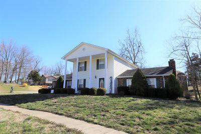 Radcliff KY Single Family Home For Sale: $179,900