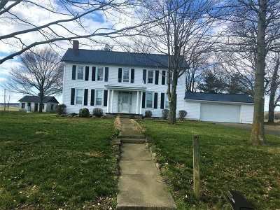 Vine Grove Single Family Home For Sale: 12485 Rineyville Road