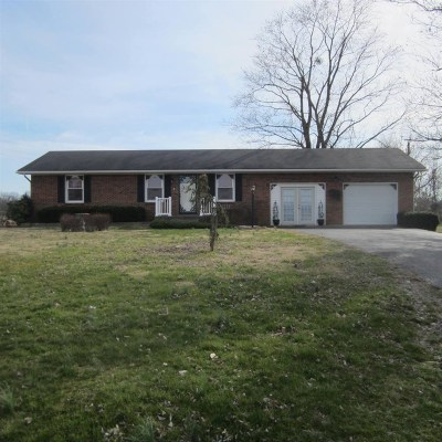 Breckinridge County Single Family Home For Sale: 217 Highway 477
