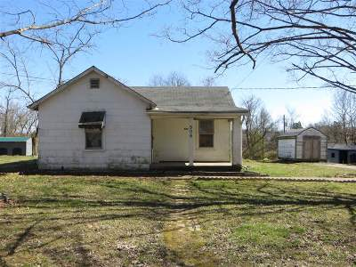 Radcliff KY Single Family Home For Sale: $42,500