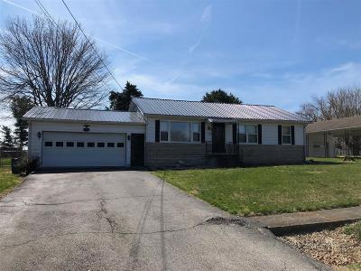 Radcliff KY Single Family Home For Sale: $116,000