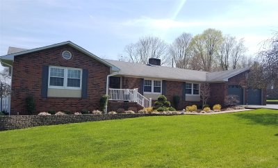Columbia Single Family Home For Sale: 101 Bluegrass Drive