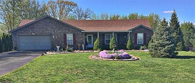 Campbellsville Single Family Home For Sale: 25 Forgotten Fields