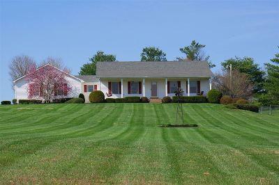 Meade County, Bullitt County, Hardin County Single Family Home For Sale: 945 Fred Fackler Road