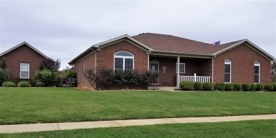 Elizabethtown Single Family Home For Sale: 100 Carriage Hills Lane