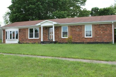 Radcliff KY Single Family Home For Sale: $149,000
