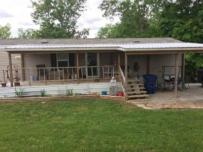 Leitchfield Single Family Home For Sale: 1287 Mercer Bend Road