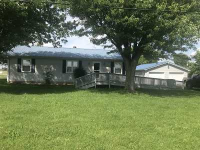 Meade County, Bullitt County, Hardin County Single Family Home For Sale: 66 Rays Road
