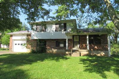 Radcliff KY Single Family Home For Sale: $63,000