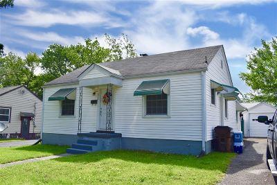 Elizabethtown KY Single Family Home For Sale: $123,000