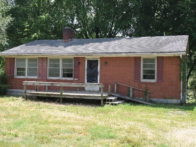 Munfordville Single Family Home For Sale: 1825 N Main Street
