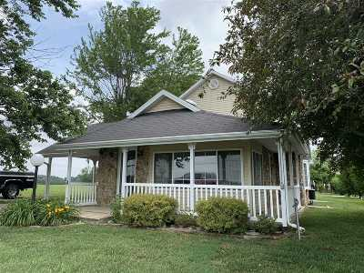 Campbellsville Single Family Home For Sale: 3658 Old Columbia Road